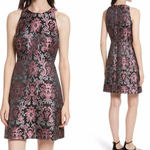 Kate Spade Tapestry Fit & Flare Jacquard Dress NWT